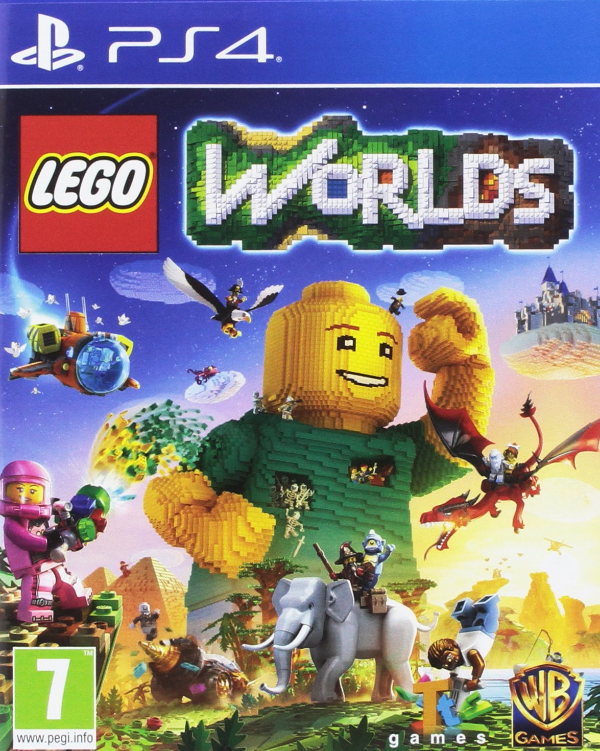 LEGO Worlds (PS4): Amazon co uk: PC & Video Games