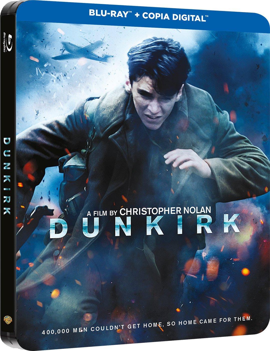 Dunkerque Blu-Ray Steelbook [Blu-ray]: Amazon.es: Fionn Whitehead, Barry Keoghan, Mark Rylance, Tom Hardy, Kenneth Branagh, Christopher Nolan, Fionn Whitehead, Barry Keoghan: Cine y Series TV