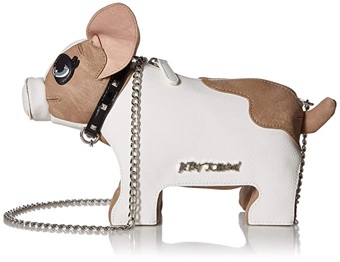 Betsey Johnson Roxy Frenchie Dog Crossbody