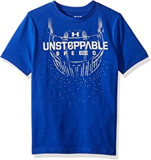9c756a89 Amazon.com : Under Armour Boys' Savage on The Field T-Shirt : Clothing