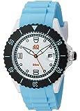 40Nine Unisex 40NINE02/BLUE40 Large 45mm Analog Display Japanese Quartz Blue Watch