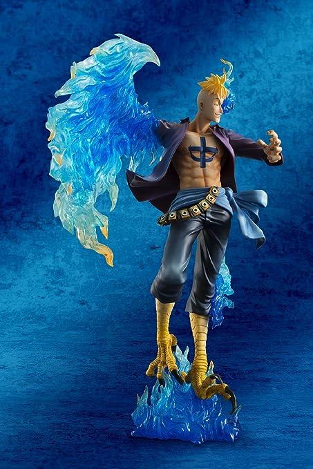 Anime One Piece Marco the phoenix Action figure Figurine Toy Latest Christ 10cm