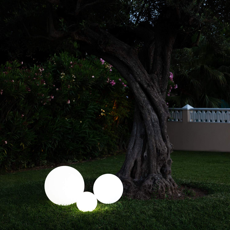 TECHBREY Esfera LED RGBW 20cm Recargable