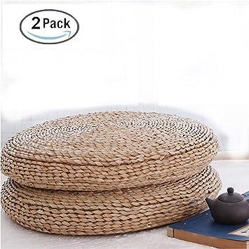 Amazon.com: HUAWELL - Cojín de 2 piezas de tatami ...