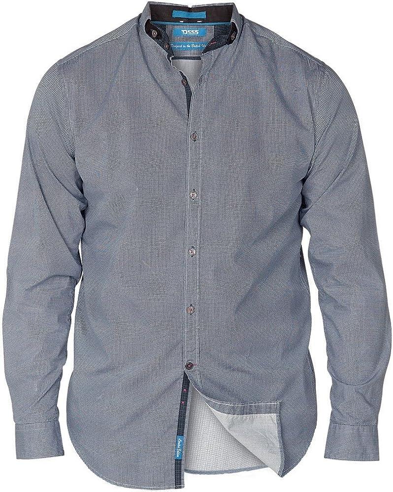 *NEW* Mens Big Size Duke D555 Cotton Tile Print Shirt 3XL 4XL 5XL 6XL 7XL 8XL