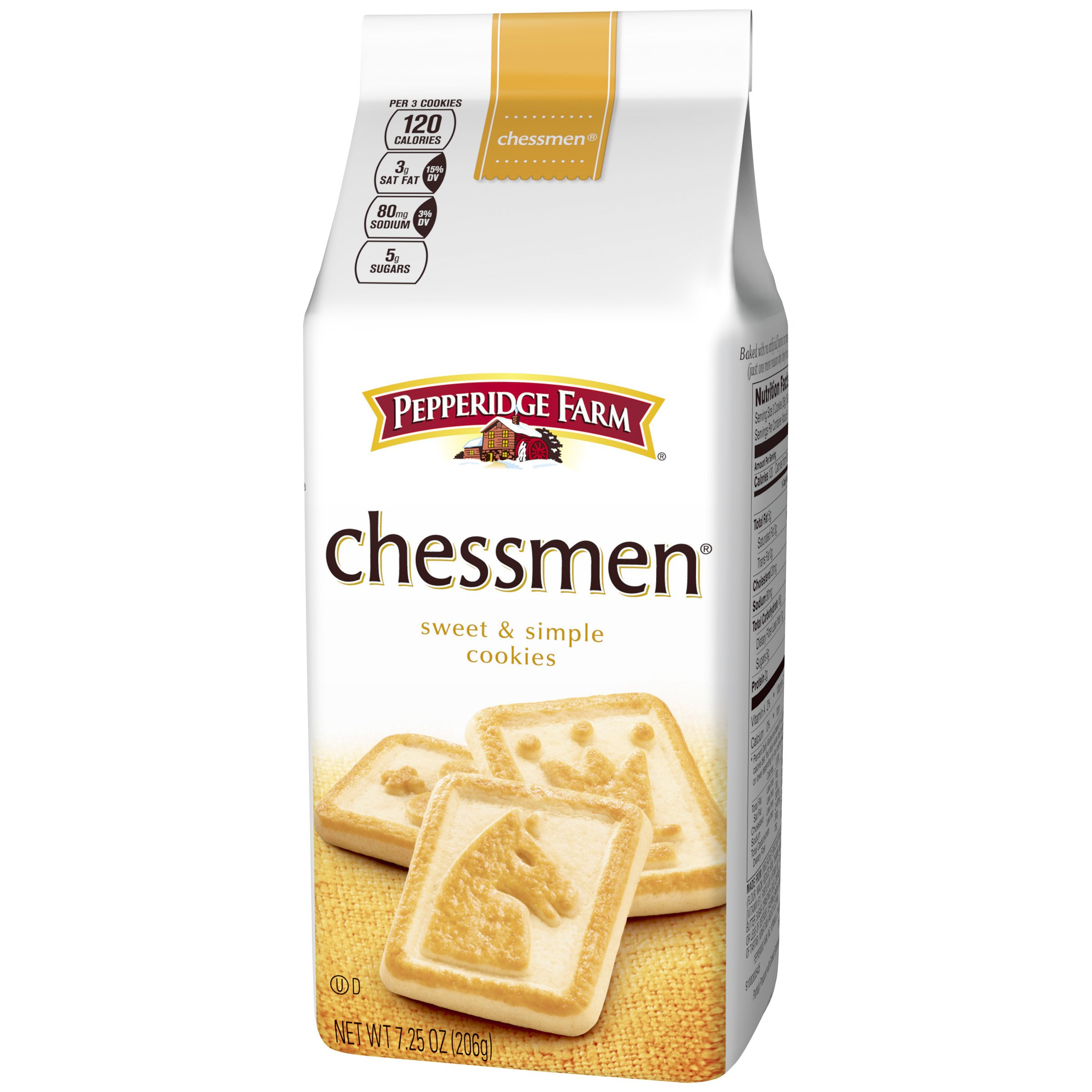 Pepperidge Farm, Chessmen, Cookies, 7.25 oz., Bag, 24-count by Pepperidge Farm (Image #5)