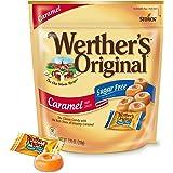 Werther's Original Hard Sugar Free Caramel Candy, 7.7 Oz Bag