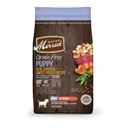 Merrick Grain-Free Puppy Dry Dog Food Recipe