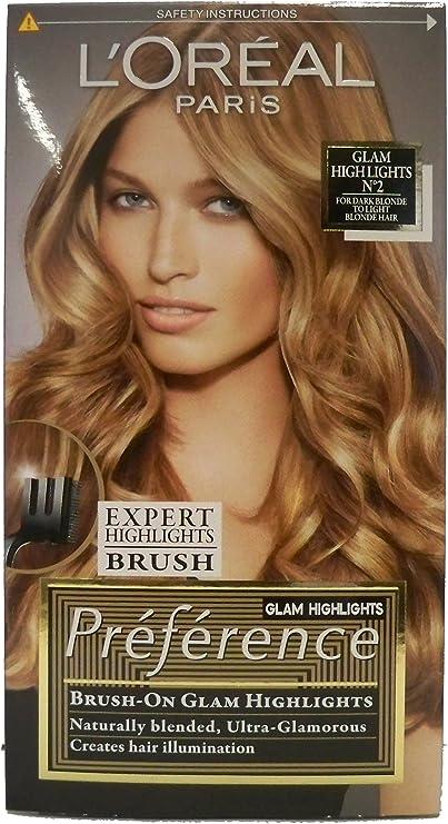 L Oréal Preferencia Glam bronde nº 2