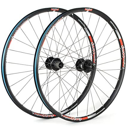 b443c77cf00 Bontrager Rhythm Comp 26 MTB Mountain Bike Wheelset TLR // 20x110 // 12x142