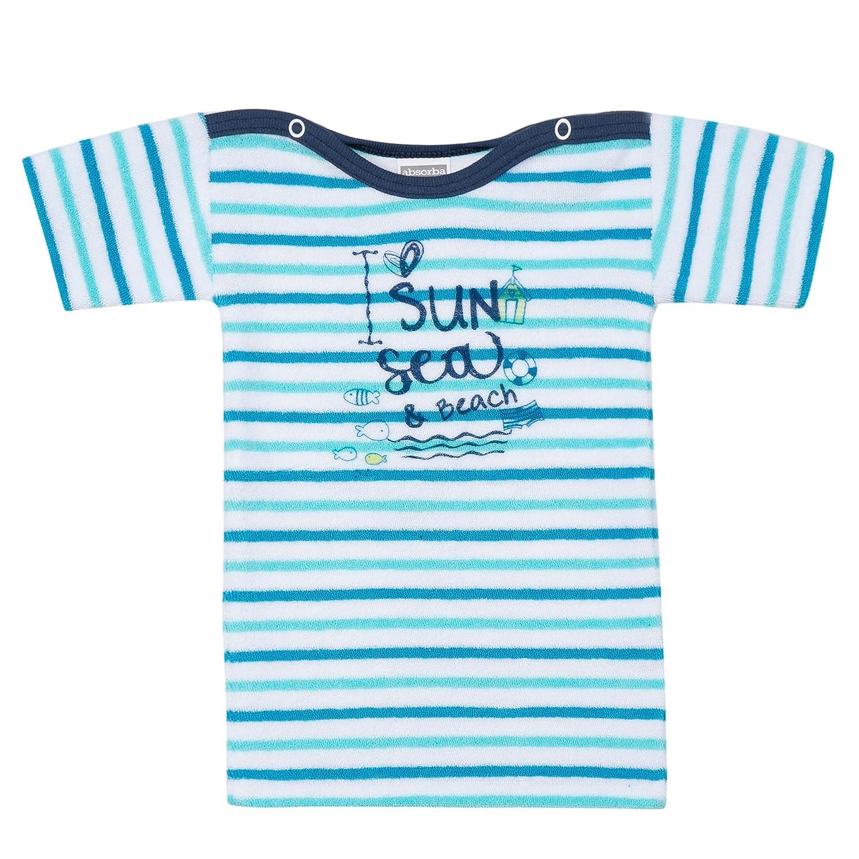 Absorba Baby-Jungen Unterhemd Mariniere Sun Blau (Caban 046) Absorba Underwear 6J64013