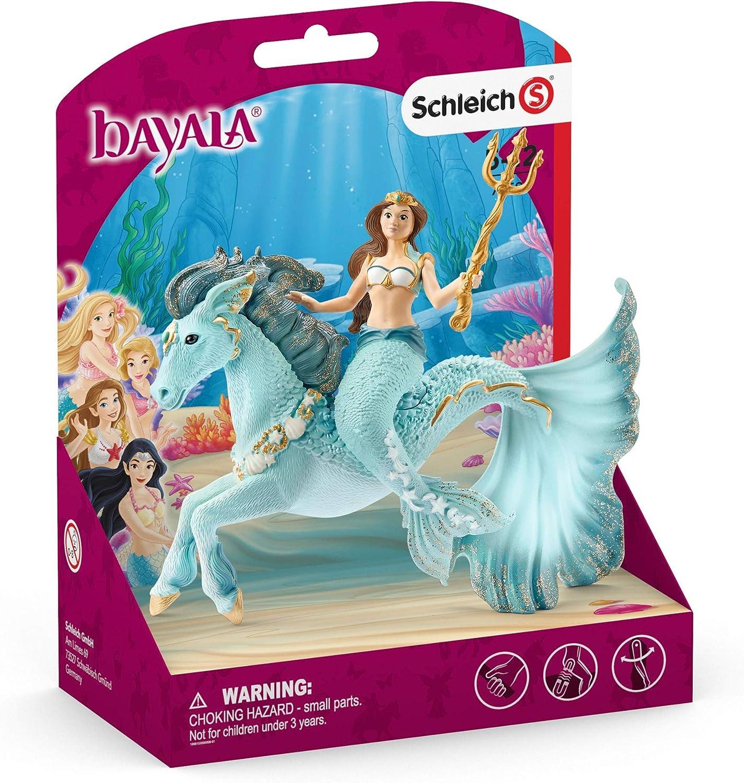 Schleich 70594 Mermaid Eyela on Underwater Horse Bayala