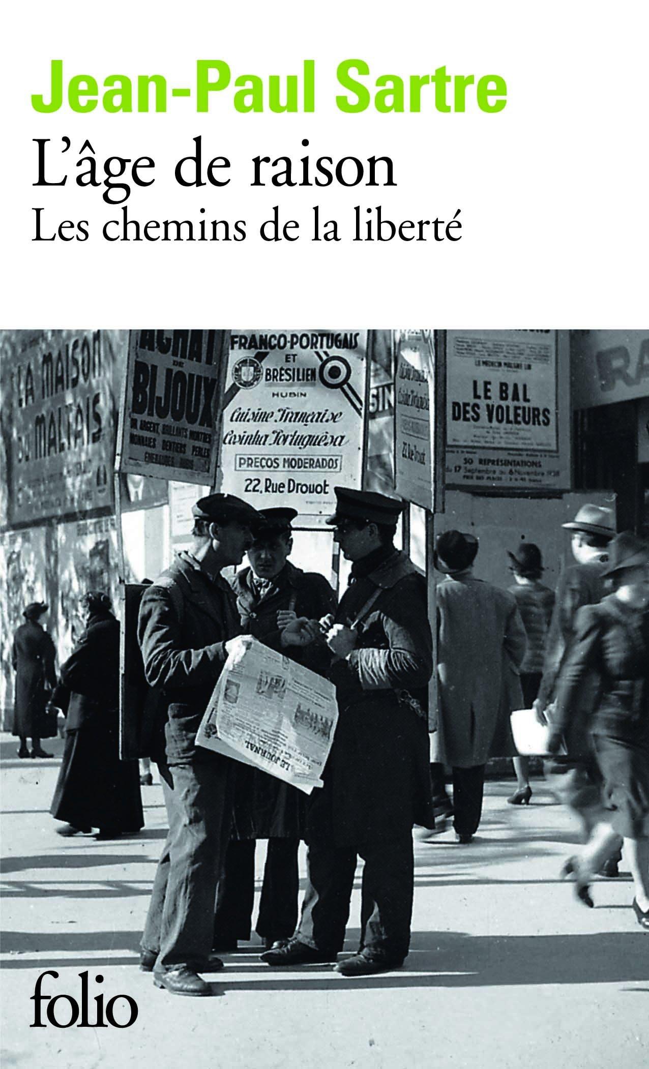 Lage De Raison Chemins De La Liberte 1 (Folio) (French Edition) pdf