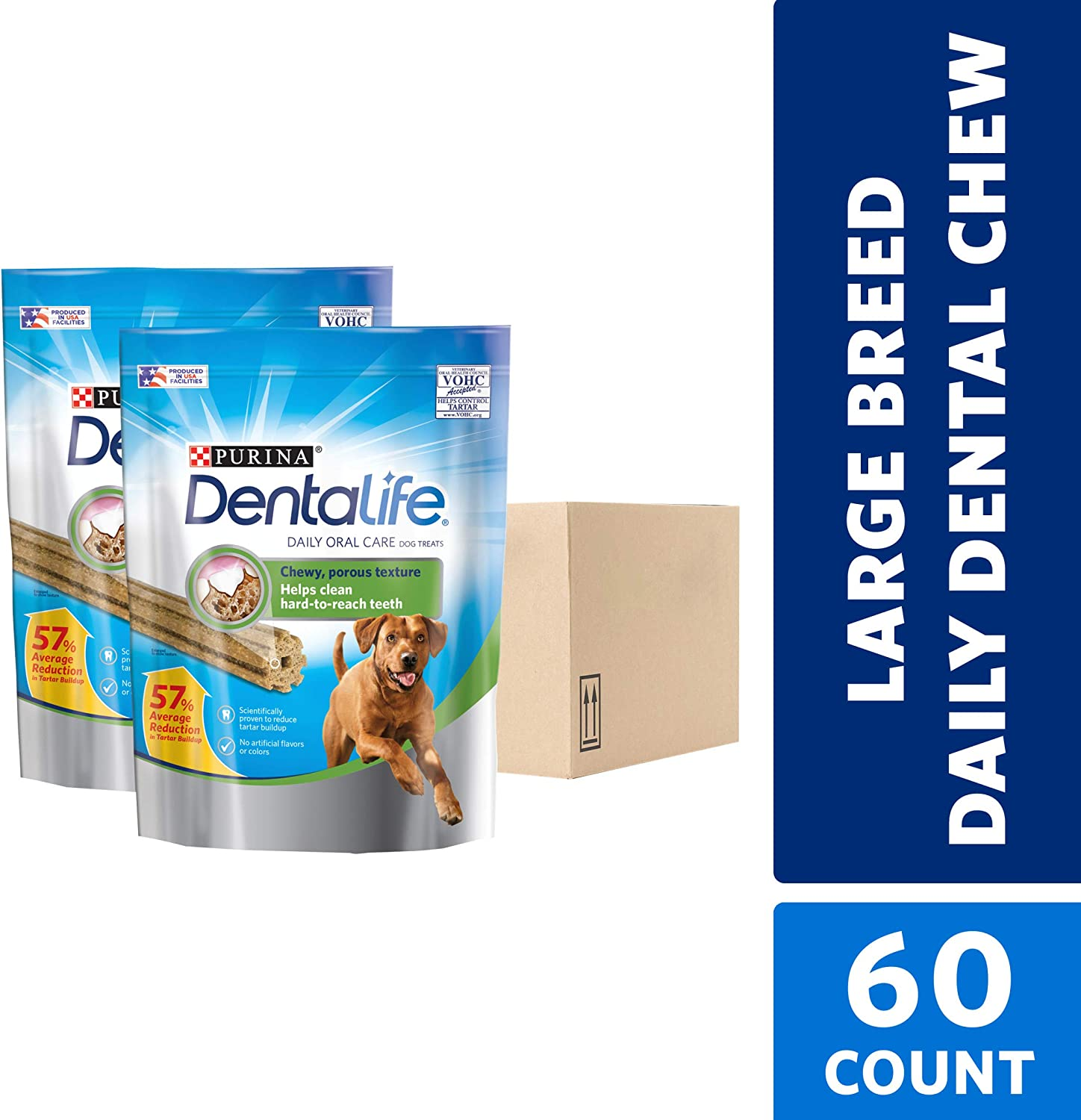 Purina DentaLife Adult Large Dog Treats