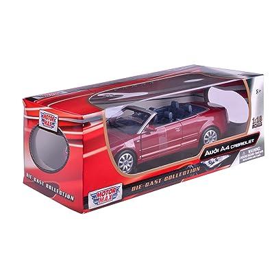Motormax 1:18 2004 Audi A4 Convertible: Toys & Games