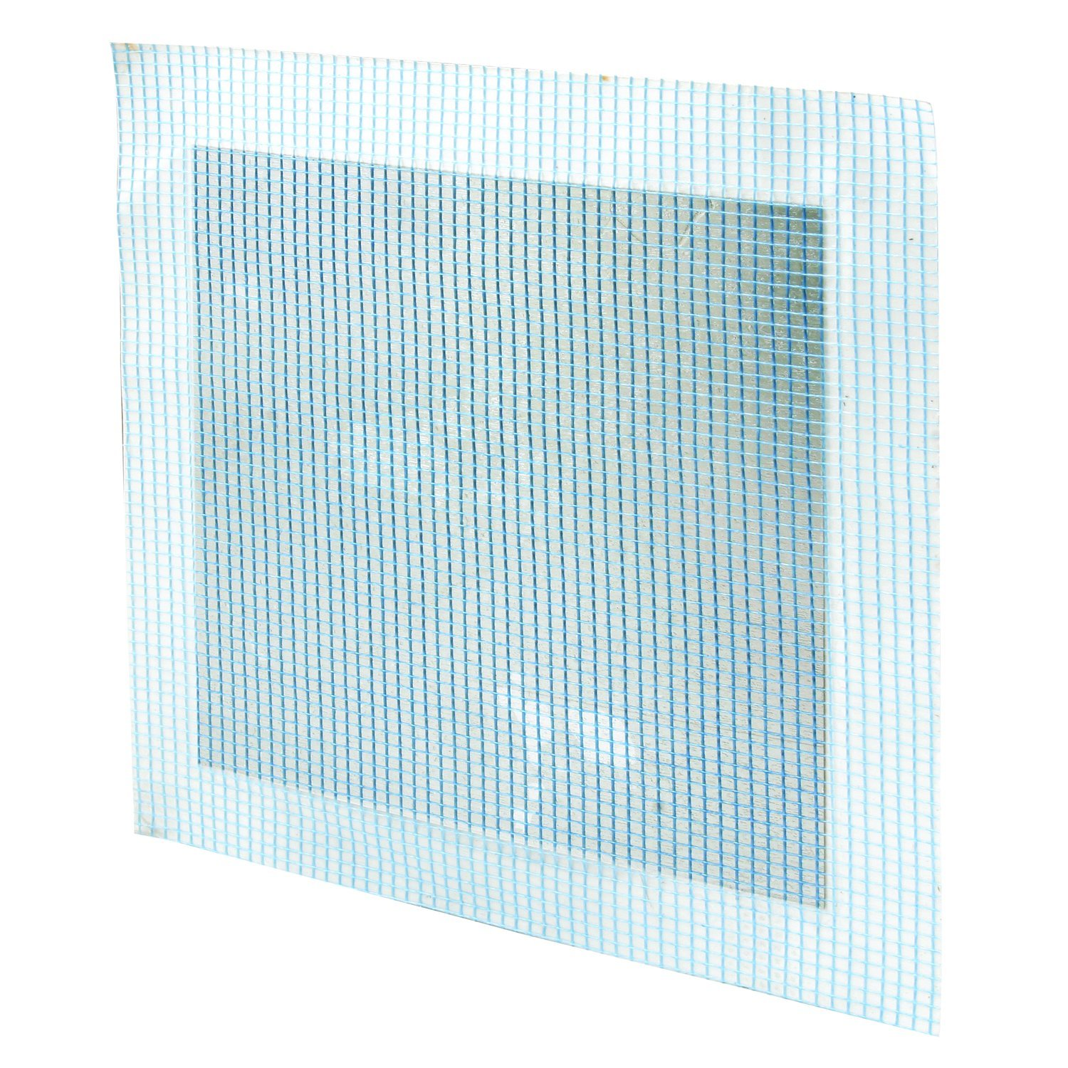 X 6-Inch Pack of 5 5 Piece Prime-Line MP9283 Self-Adhesive Drywall Repair Patch Fiber Mesh Over Galvanized Plate