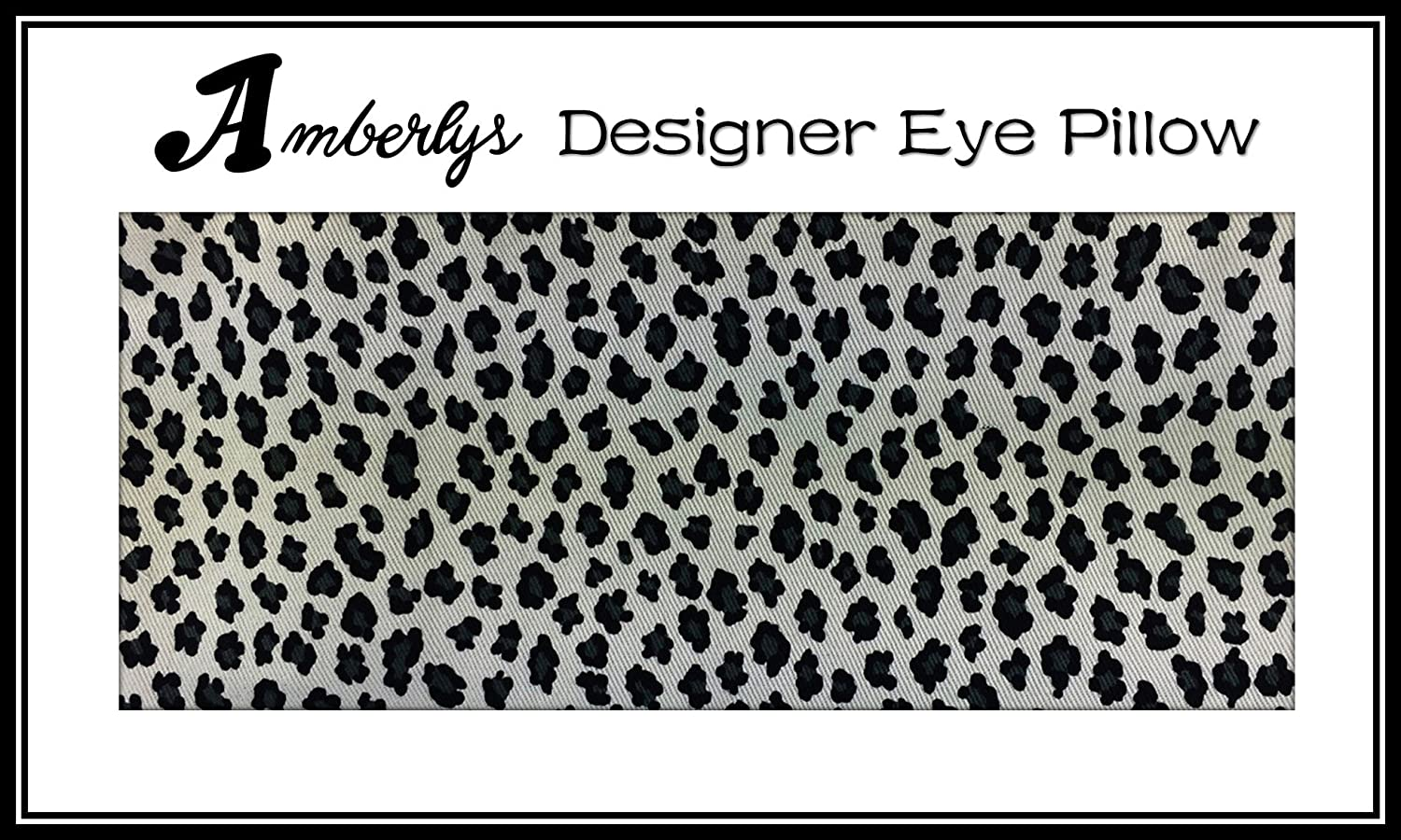 Amberly Lavender Yoga /& Mediation Eye Pillow with Washable Covers for Relaxing Insomonia Relief
