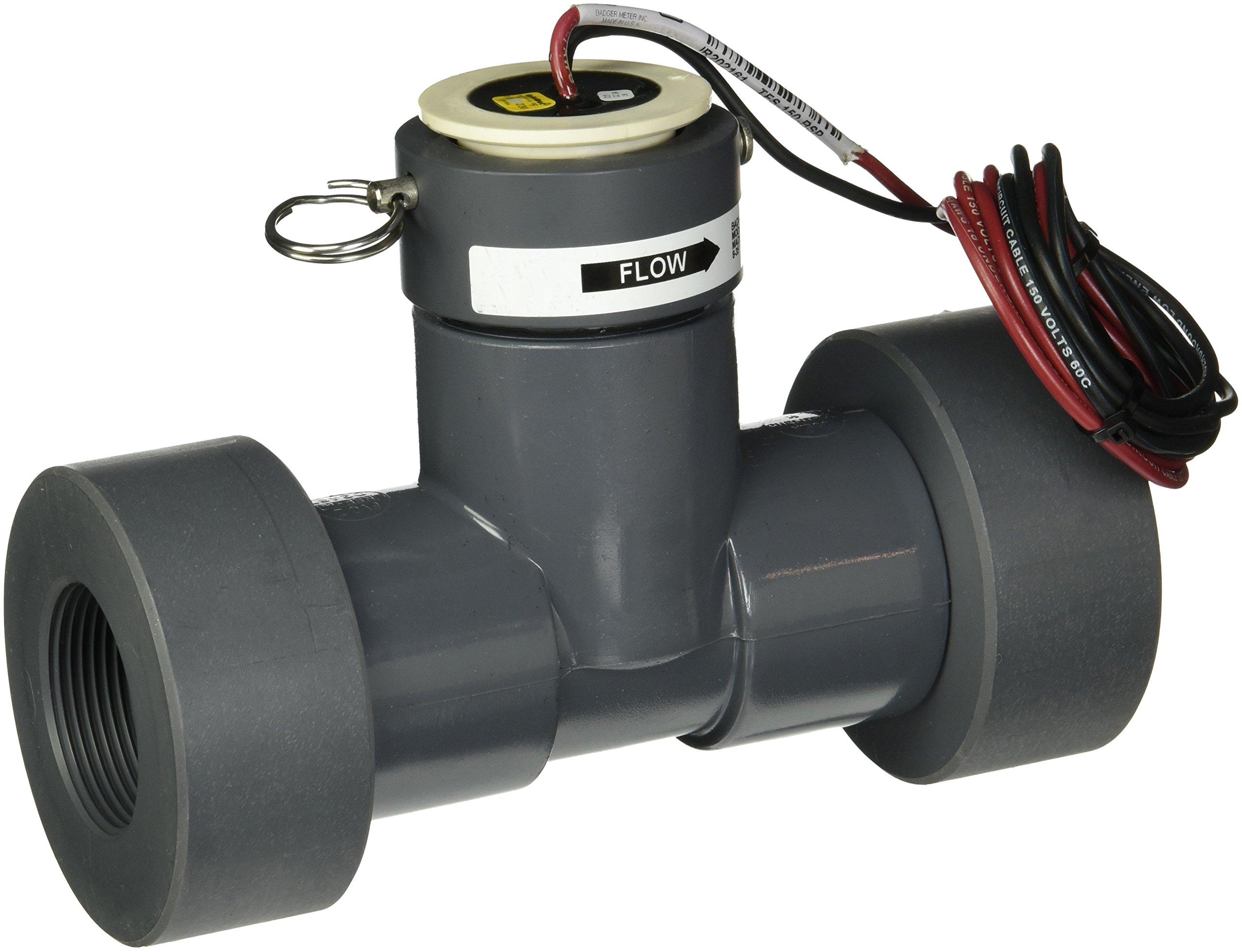 Toro Plastic Tee TFS-150 Flow Sensor, 1.5''