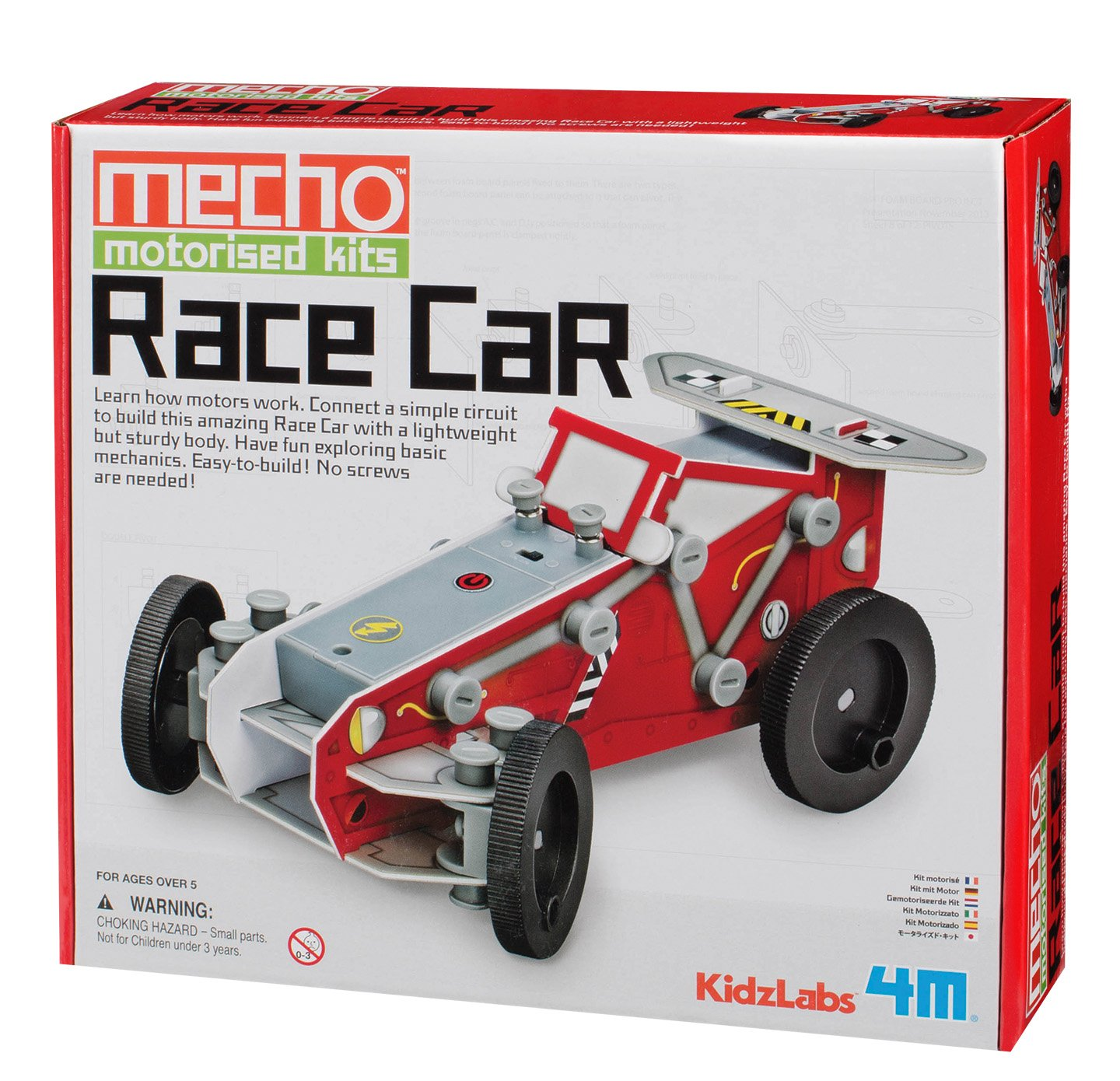 Smart Car Cozy Coupe Puts Childlike Fun Back In Driving: 4M KidzLabs Race Car Mecho