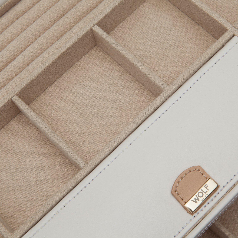 WOLF 301653 Chloe Extra Large Jewelry Box, Cream by WOLF (Image #3)