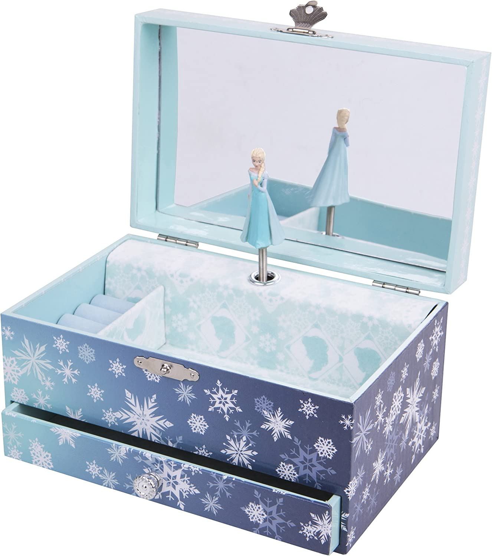 Trousselier - Caja de joyería con música y diseño de Elsa Frozen (TROUS60430): Amazon.es: Juguetes y juegos