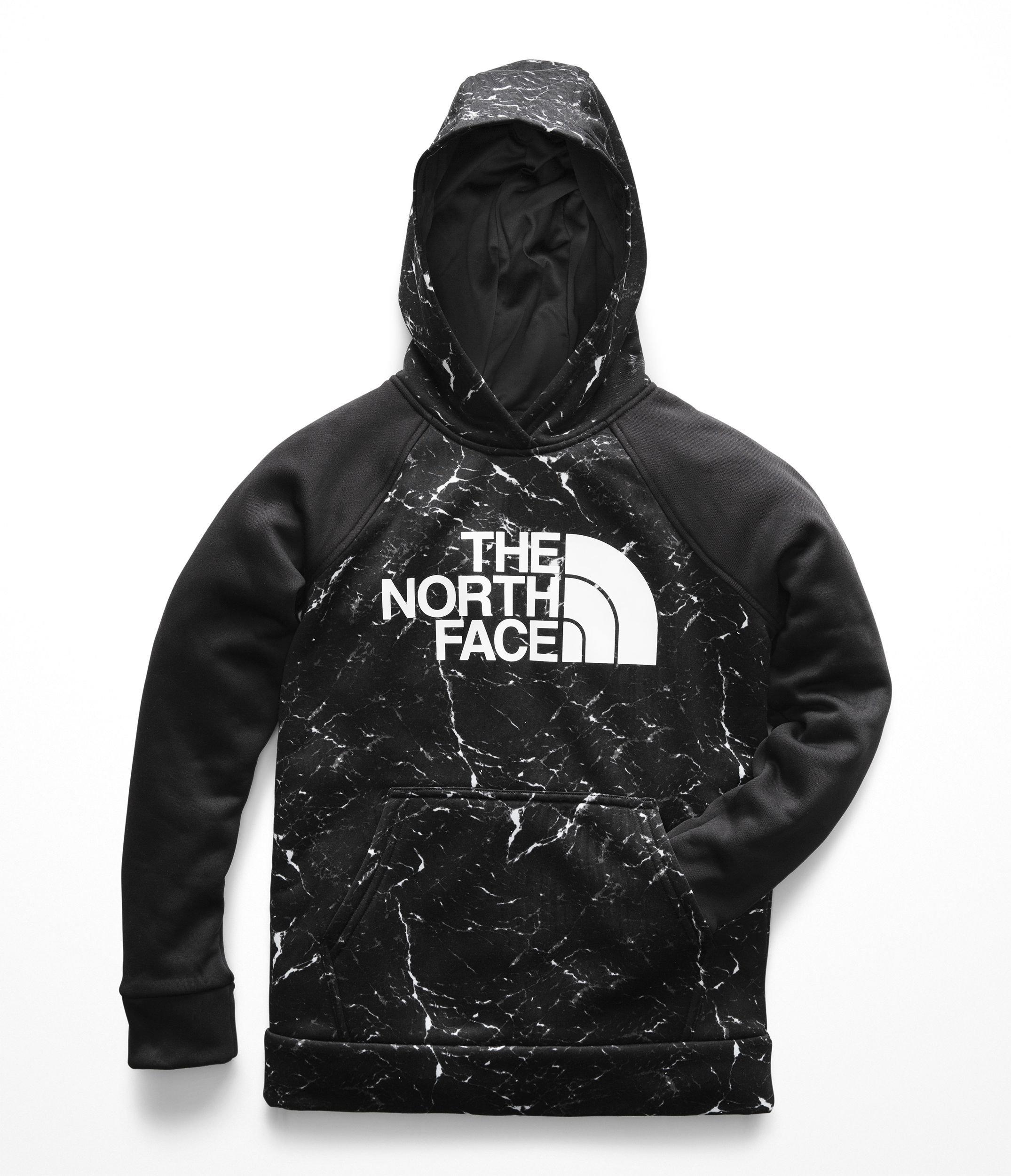 The North Face Kids Boy's Surgent 2.0 Pullover Hoodie (Little Kids/Big Kids) TNF Black Granite Print XX-Small
