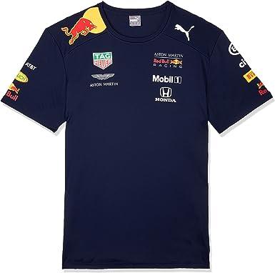 Red Bull Racing Aston Martin Team tee 2019, L Camiseta, Azul (Navy Navy), Large para Hombre: Amazon.es: Ropa y accesorios