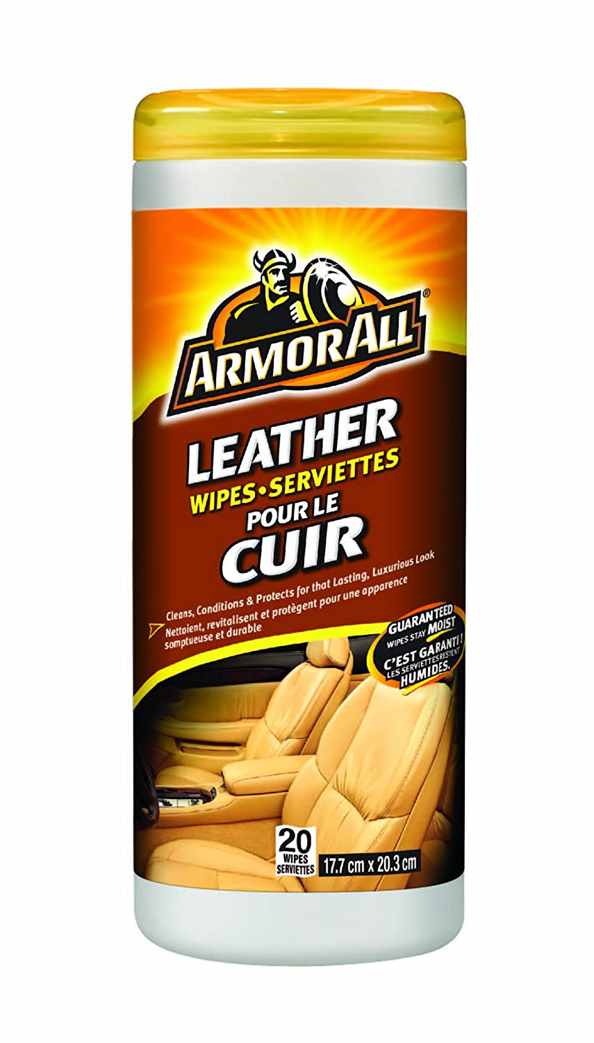 Armor All Leather Wipes, 20 Count Armored AutoGroup Canada 8472