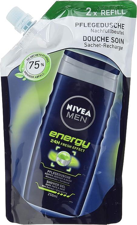 Nivea men - Energy, cuidado de ducha, pack de 6 (6 x 500 ml ...