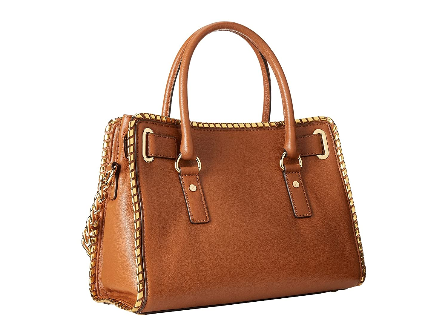 613bf9e6f36c Amazon.com: Michael Kors Whipped Hamilton East West Satchel Luggage/Dark  Gold/Gold: Shoes