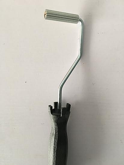 Rodillo para laminar fibra de vidrio con resina, de 12,5x 75