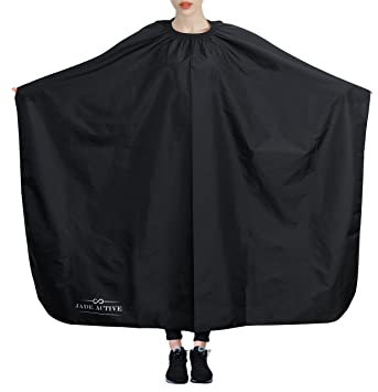 Amazon.com : Hairdresser Cape - Premium Barber Gown made of 100 ...