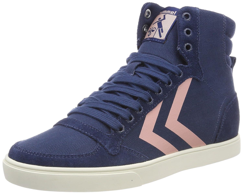 Hummel Blau Damen Slimmer Stadil Hb High Hohe Sneaker Blau Hummel (Blau Wing Teal 1107) 985b4c