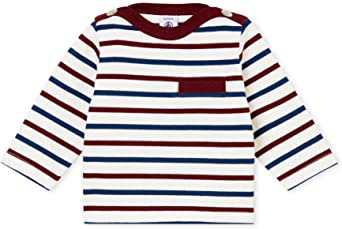 Petit Bateau SF Marinieres T-Shirt Bébé garçon