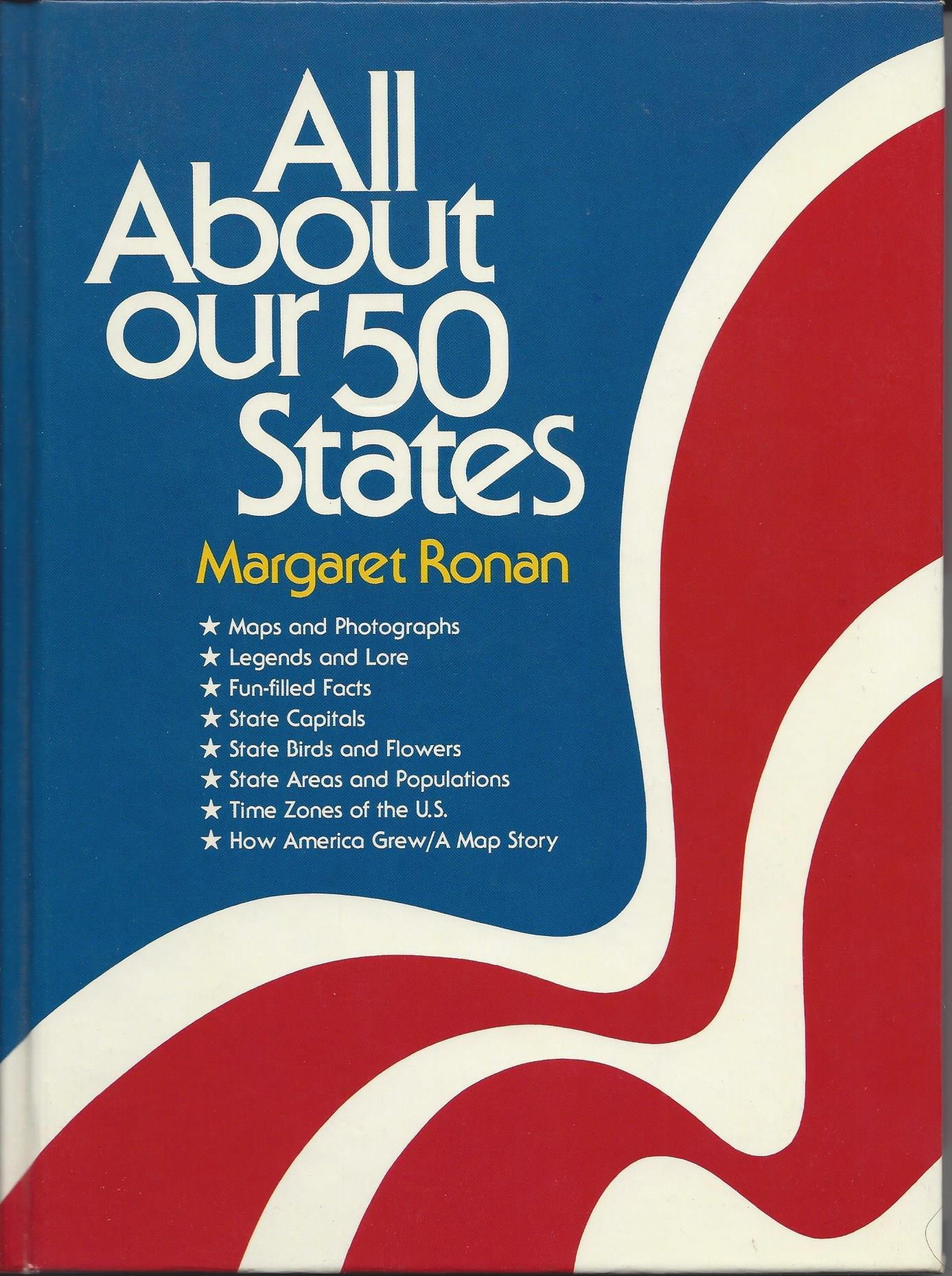 All About Our 50 States: Margaret Ronan: 9780394802442 ... on show time zones, state to state time zones, standard time zones, north america time zones, fall time zones, indiana time zones, american time zones, utc time zones, eastern time zones, tennessee time zones, different time zones, europe time zones, nebraska time zones, washington time zones, na time zones, brazil time zones, four time zones, christmas time zones, all us time zones, social studies time zones,