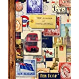 Trip Planner & Travel Journal: Vacation Planner & Diary for 4 Trips, with Checklists, Itinerary & more [ Softback Notebook *