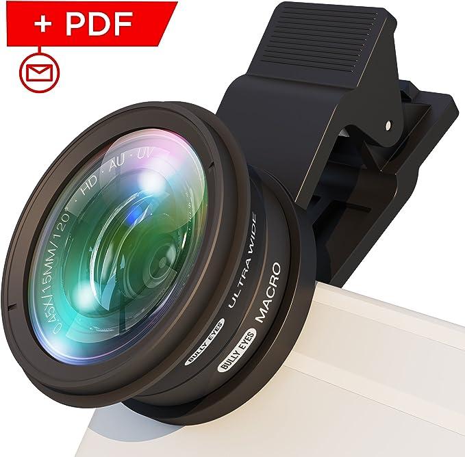 BullyEyes - Accesorio para lente de cámara de teléfono: gran ...