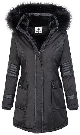 Manteau d'hiver femme parka