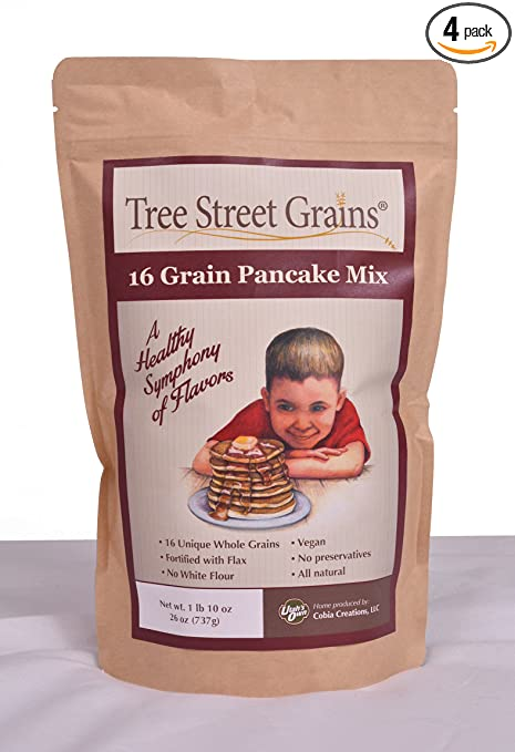 16 Ancient Whole Grain Pancake Mix, 26 oz, 4 pack