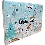 Balea - Adventskalender - Frohe Weihnachten - Damen und Herren - Beauty - Pflege - Kosmetik - 24 x Produkte der Marke Balea