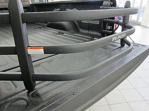 Dodge Ram Black Aluminum Tailgate Bed Extender Mopar