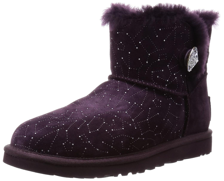 amazon com ugg women s mini bailey button bling constellation shoes rh amazon com