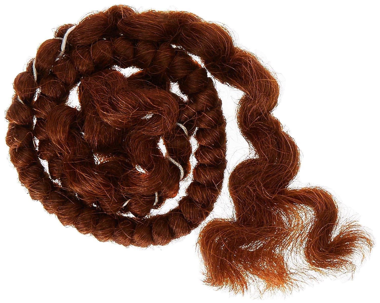 Mehron Makeup Crepe Hair 12-inch Braid (Black) 120B