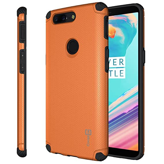 Attraktiv OnePlus 5T Case, CoverON Bios Series Minimalist Thin Fit Protective Hard  Phone Cover With Embedded