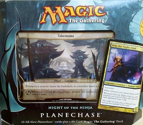 Magic the Gathering- MTG: Planechase (2012 Edition) Night of the Ninja - Game Pack