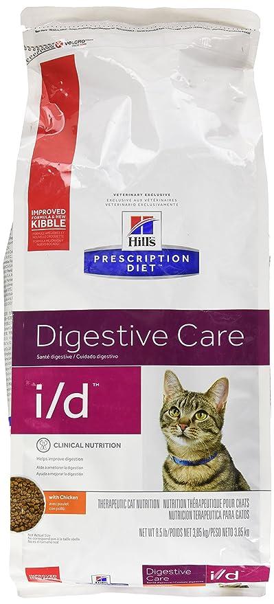 HillS Prescription Diet I/D Gastrointestinal Health Dry Cat Food 8.5Lb