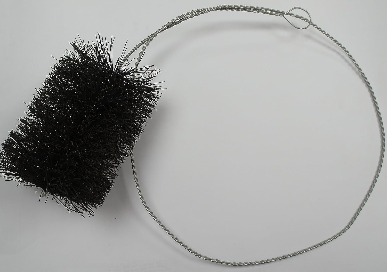 Kunststoff 150 mm Besatzdurchmesser Ofenrohrwischer und /Öse - 2.000 mm lang