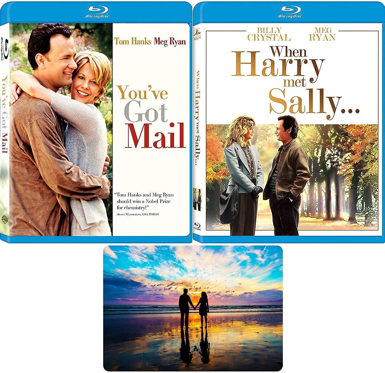 Amazon Com When Harry Met Sally You Ve Got Mail Meg Ryan Blu Ray Movie Collection With Bonus Art Card Meg Ryan Tom Hanks Billy Crystal Movies Tv