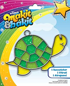 Colorbok TB-61816 Makit and Bakit Suncatcher Kit, Turtle