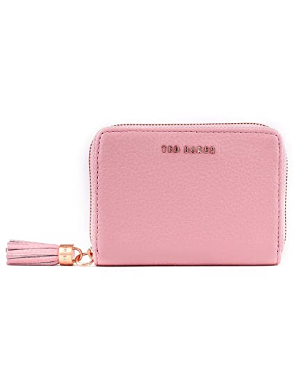 7075b7d1a59 Ted Baker Sabel Small Zip Around Tassel Purse in Pink: Amazon.co.uk ...